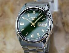 Seiko 5 Rare 1970s Men's Automatic Made in Japan Stainless Steel Watch YY40