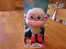 "NEW! DORA THE EXPLORER ""BOOTS"" LOVES YOU 12"" PLUSH TOY"