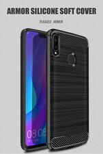 Slim Tough Bumper Rugged Armor Case Cover For Huawei P Smart 2019 - Matte Black