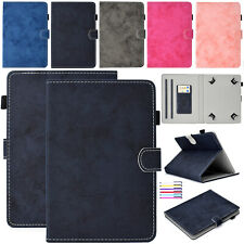 "For Universal 7"" 8"" 10"" Inch Tablet Cloth Case Magnetic Card Pocket Stand Cover"