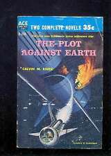 Ace Double D358 KNOX (SILVERBERG) The Plot Against earth + LESSER Recruit for A.
