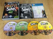 The Sims 2 PC CD-ROM Game , Disk 1, 2, 3 & 4 Included, EA Games USA Version