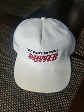 Vintage Detroit Diesel Power Trucker Hat Snapback (broken)