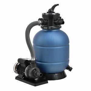Sandfilteranlage Filter Pool Pumpe Filterpumpe Sandfilter Filterkessel Juskys®