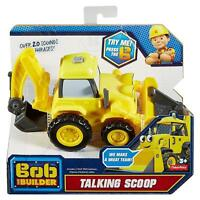 Fisher-Price Bob the Builder Talking Scoop Vehicle 100% Brand New