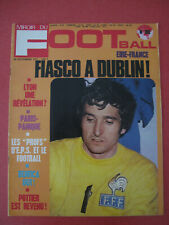 Magazine Miroir du Football n°180 Novembre 1972 Eire France Lyon