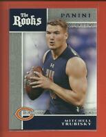 Mitchell Trubisky RC 2017 Panini Football The Rooks Rookie Card Chicago Bears QB