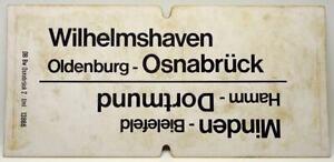 Wilhelmshaven-Osnabrück/Minden-Dortmund/Osnabrück-Emden/Bremerhaven-Lehe  107