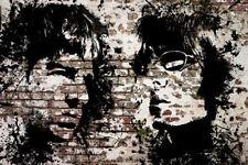 Huge Oasis Noel Liam Gallagher Framed Canvas Print