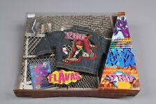 ZB642 Mattel Jouet C1265 Habillages Mode Flavas Pull Téléphone Canette Magazine