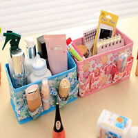 Folding Multifunction Make Up Cosmetic Storage Box Container Bag Case