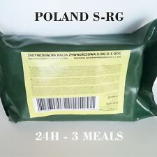 MRE POLISH Military 24H Operational Food Ration Poland Daily Pack MENU Combat