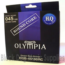 Olympia High Quality Round Core Electric Bass Guitar Strings 45100 Gauge