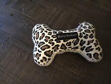 Harry Barker Plush Canvas Dog Toy, Size Small, Cheetah