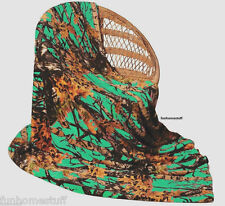 "TEAL CAMO Camouflage Woods Luxury Soft Fleece Cashmere Throw Blanket 60""x80"""