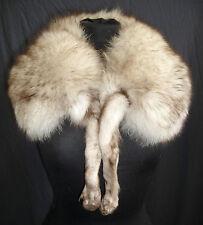 Vintage Fuchs Pelzstole Stola Pelzkragen Blaufuchs Fellkragen fur Stole fox  hel
