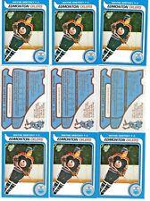 (9-card lot) 1979 - 1980 O-Pee-Chee WAYNE GRETZKY rookie (RP) lot  [NrMt-MInit]