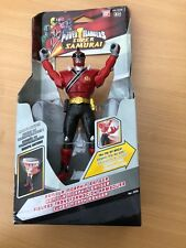 Power Rangers Mighty Morphin DX Samurai RED ARMOUR Spin Ranger