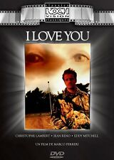 NEW DVD - I LOVE YOU -  KOCH VISION - CHRISTOPHER LAMBERT , JEAN RENO, EDDY MITC