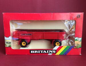 1987- Britains 1/32 Massey Ferguson 4 Wheel Trailer No9567 MIB