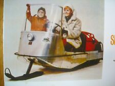 1969 Vintage SNOW BUG Snowmobile Brochure