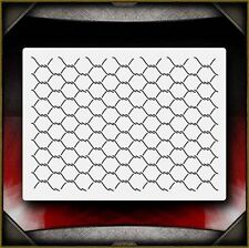 Chainlink 2 Airbrush Stencil Template Paint Airsick