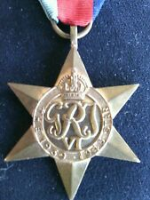 Military War Medals Star British Navy Militaria Foreign Campaign ww2 Pins Ribbon