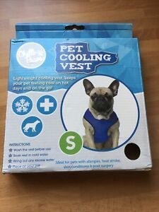 Dog Cooling Vest Pet Small Chilli Paws - New
