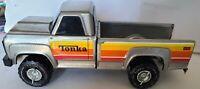 1980's Tonka Pickup Truck Silver Truck