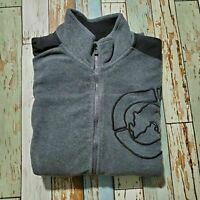 Mens Jacket Ecko Unltd Size Xl Gray And Black Polyester