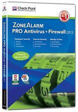 ZONEALARM PRO ANTIVIRUS + FIREWALL 2013 (PC) nuovi/sigillati