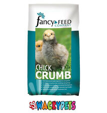 Fancy Feeds Chick Crumb 20kg for Poultry Chicks, Ducklings & Goslings (BAI101)