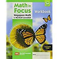 Math in Focus: The Singapore Approach  Student Workbook, Book 3A - ACCEPTABLE
