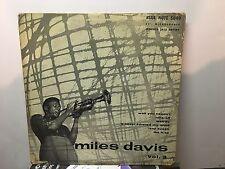 "MILES DAVIS - Vol. 3 ~ BLUE NOTE 10"" 5040 {dg orig} w/Silver, Blakey ->VERY RARE"