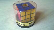 Juguete Vintage-Cubo Mágico Puzzle Juego-Rubik 'S CUBE-incluye Caja Original-V Raro