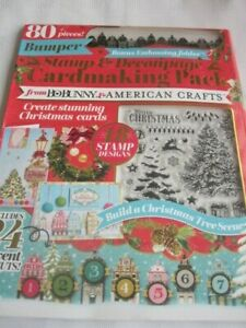 **Craft Room Clear Out**  Christmas Stamp & Decoupage Cardmaking Pack