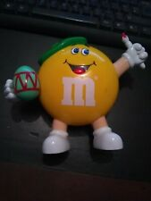 M & M Sweet Dispenser Brush And Egg 7 inches tall
