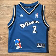 John Wall Wizards size 3T ROOKIE NBA basketball Toddler jersey kids adidas blue