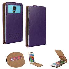 HUAWEI Ideos X3 - Smartphone Hülle Tasche Schutzhülle - Flip XS Lila