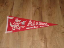 1968 GATOR BOWL ALABAMA FOOTBALL FULL SIZE PENNANT VERY COLORFUL