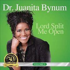 FREE US SH (int'l sh=$0-$3) USED,MINT CD Juanita Bynum: Lord Split Me Open
