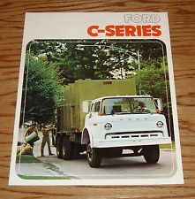 Original 1975 Ford C-Series Truck Sales Brochure 75