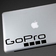 Go Pro Vinyl Sticker Auto Decal Shirt GoPro Hero 3 4 silber schwarz weiß NEU Mount