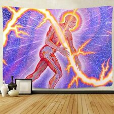 F-Fun Soul Tool Band Poster Tapestry, Large 80x60inches Soft Cotton, Runing Man
