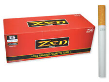 ZEN Red Full Flavor King Size - 1 Box - 250 Tubes Box RYO Tobacco Cigarette
