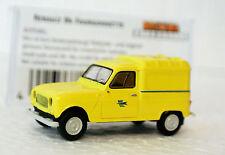Brekina 14704 1/87 HO Renault R4  Van  La Poste C-9 Factory New In OB