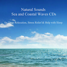 Relaxing Natural Sounds Sea & Coastal Waves 2 CDs No Background Sounds or Music