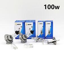 H1 H7 T10 100w CLEAR HALOGEN HEAD LIGHT BULBS SET MAIN/DIPPED/SIDE - A