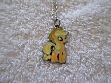Ex-mostrar mi pequeño Pony Encanto Colgante Collar Applejack Z