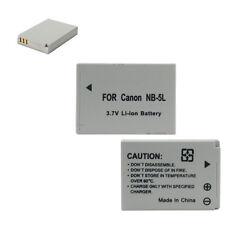 Batterie 1120mAh NB-5L pour Canon IXUS IXY Powershot